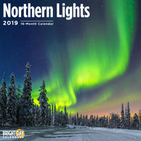 Northern Lights 2019 Wall Calendar