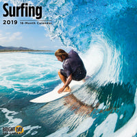 Surfing 2019 Wall Calendar