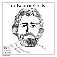 Face of Christ 2019 Wall Calendar