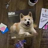 Stay organized in style with an Akitas 2019 calendar