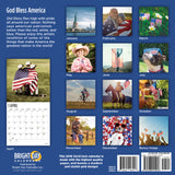God Bless America 2019 Wall Calendar