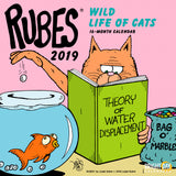 Rubes Wild Life of Cats 2019 Wall Calendar