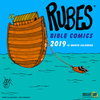 Rubes Bible Comics 2019 Wall Calendar