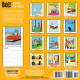 Rubes Twisted Pop Culture 2019 Wall Calendar