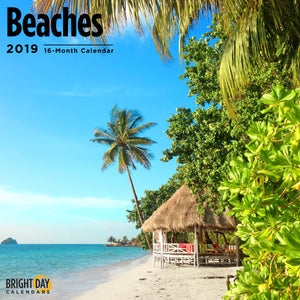 Beaches 2019 Wall Calendar