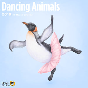 Dancing Animals 2019 Wall Calendar