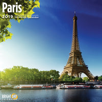 Paris 2019 Wall Calendar