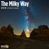 Milky Way 2019 Wall Calendar
