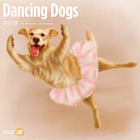 Dancing Dogs 2019 Wall Calendar