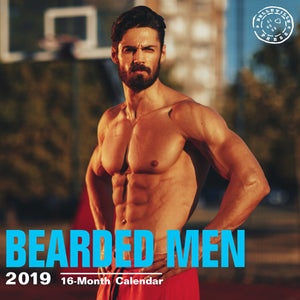 Bearded Men 2019 Wall Calendar