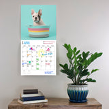 French Bulldog Puppies 2019 Wall Calendar