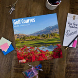 Golf Courses 2019 Wall Calendar
