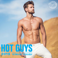 Hot Guys 2019 Wall Calendar