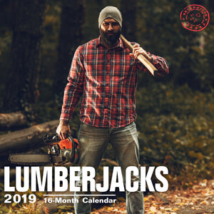 Lumberjacks 2019 Wall Calendar