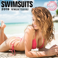 Swimsuits 2019 Wall Calendar