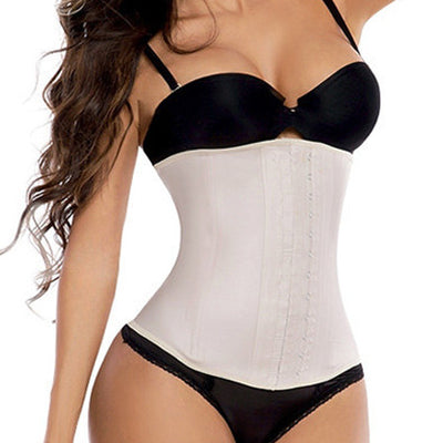 angel curves beige nude waist trainer