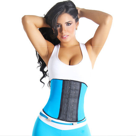 Gym Waist Trainer-Aqua CLEARANCE