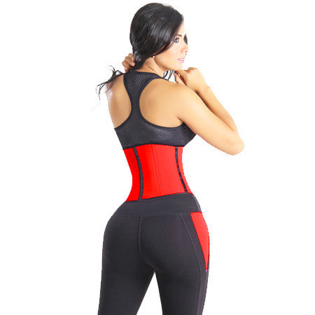 Gym Waist Trainer-Red