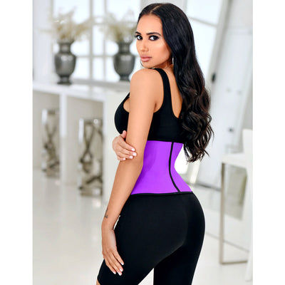 """Kim"" Sport Waist Trainer-Purple"