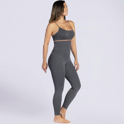Curveez® High Waisted Shaping Grey Leggings