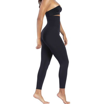Curveez® High Waisted Shaping Black Leggings