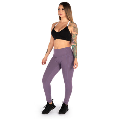 Heart Booty Leggings- Mauve