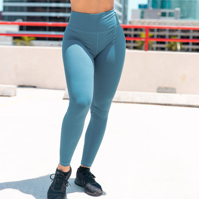 Intense Leggings- Steel Blue