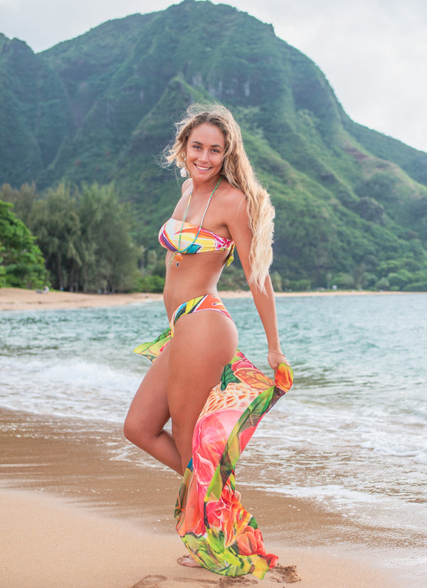 Hawaiian Goddess - Beach Pareos