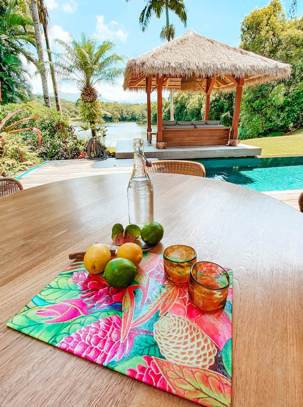 Island Style Cutting and Serving Boards - Tropical Kitchen