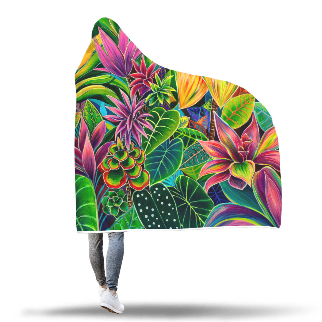 Hanalei Morning - Hooded Blanket