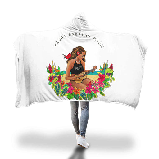 Kauai Breathe Magic - Hooded Blanket