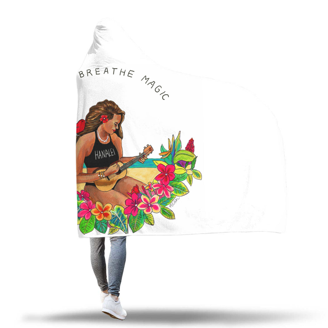 Kauai Breathe Magic - Hooded Blankets