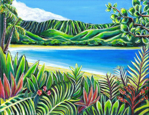 Morning at Hanalei Bay - SOLD