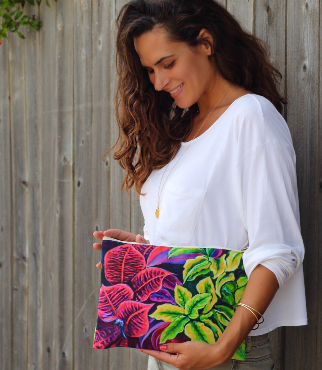 Magical Flowers Clutch