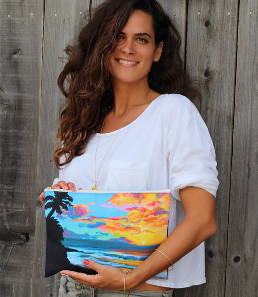 Tropical Sunset Clutch
