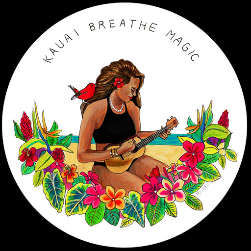 Sticker - Kauai, Breathe magic