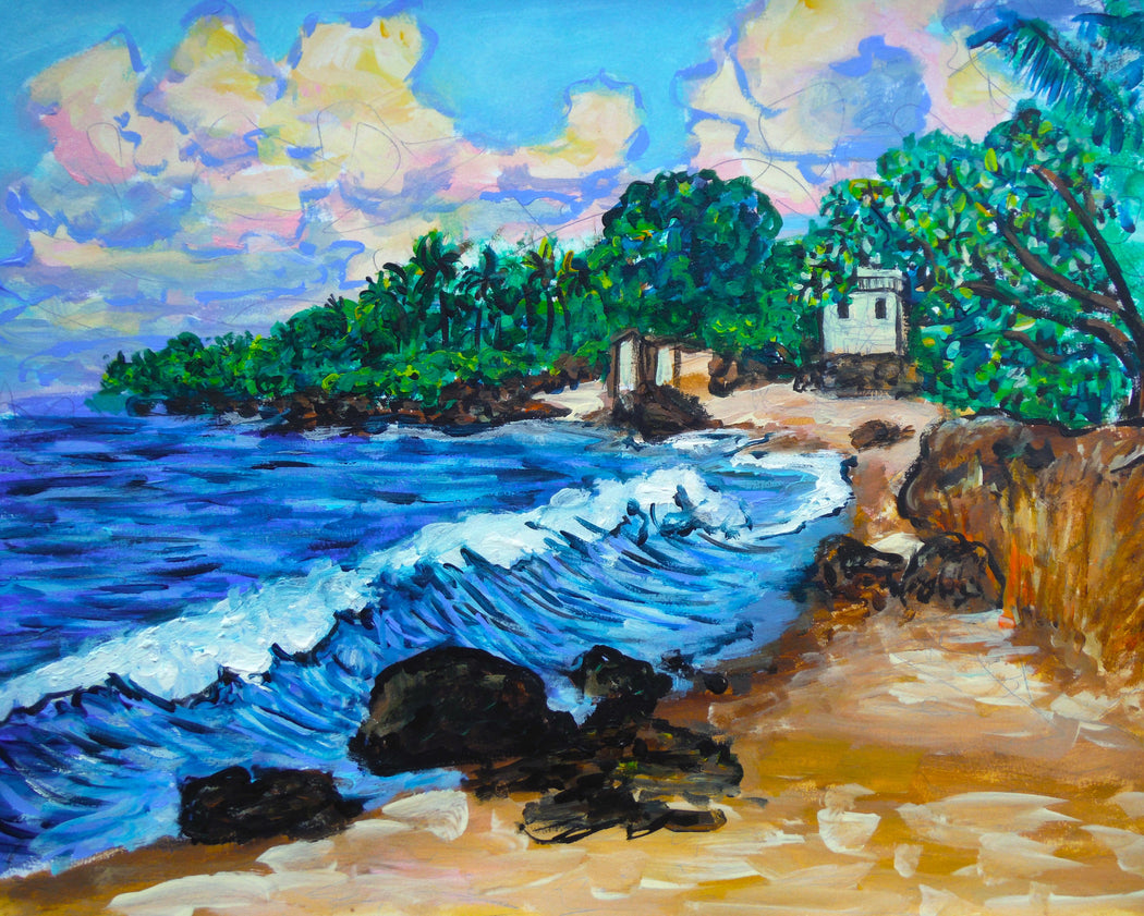 Alligator's beach - North Shore Oahu - SOLD