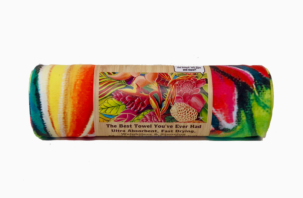 *NEW* Hawaiian Love  - Microfiber Towel