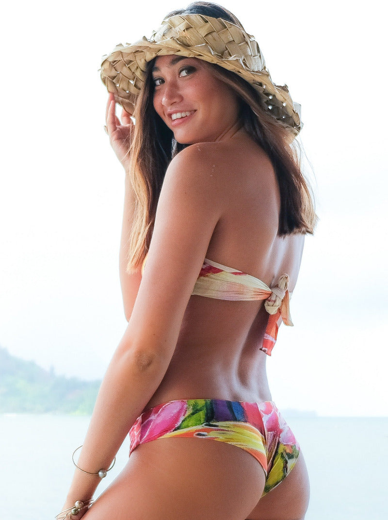 Hawaiian Love Cheeky & Reversible  Bottom