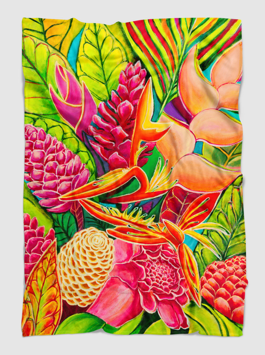 *NEW* Hawaiian Love  - Cuddeling blanket