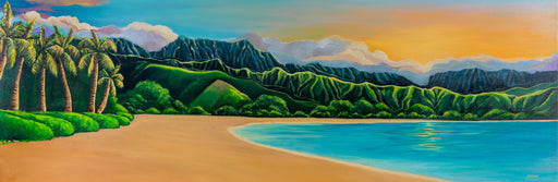 Sunset At Hanalei Bay - Available