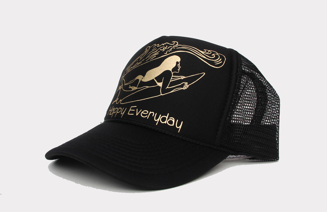 Happy EveryDay - Golden Trucker Hats