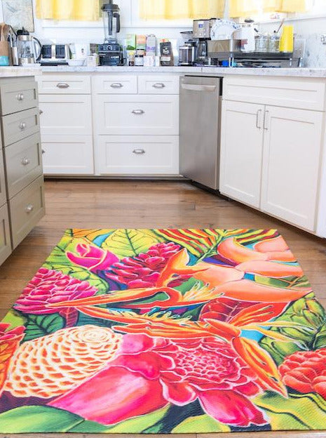 *NEW* Hawaiian Love  - Stunning Floor Rug