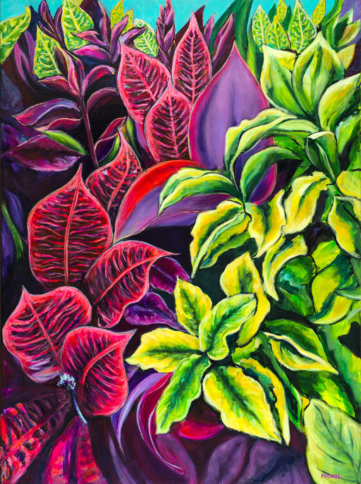 Magical Flowers of Kauai (Kauai Flowers #1) - MICHAL ART STUDIO HAWAII - florals