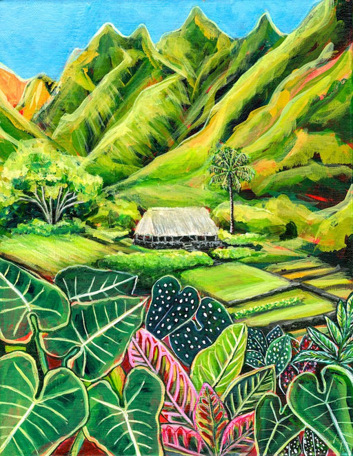 Limahuli Valley, Haena, Kauai, Hawaii - Original - SOLD