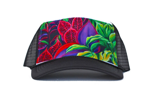 Kauai magical flowers - Turcker Hat