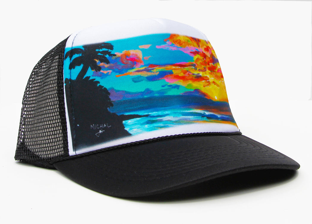 Tropical Sunset - Trucker Hat