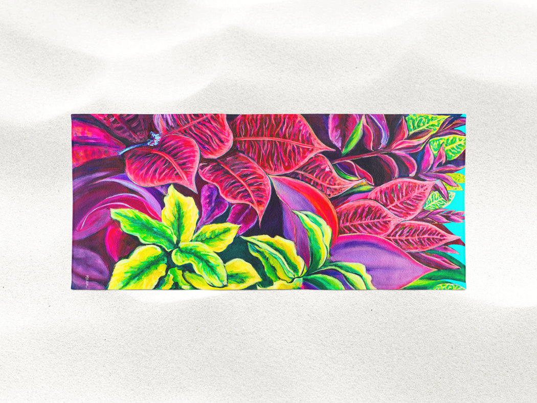 Magical Flowers - Microfiber Towel