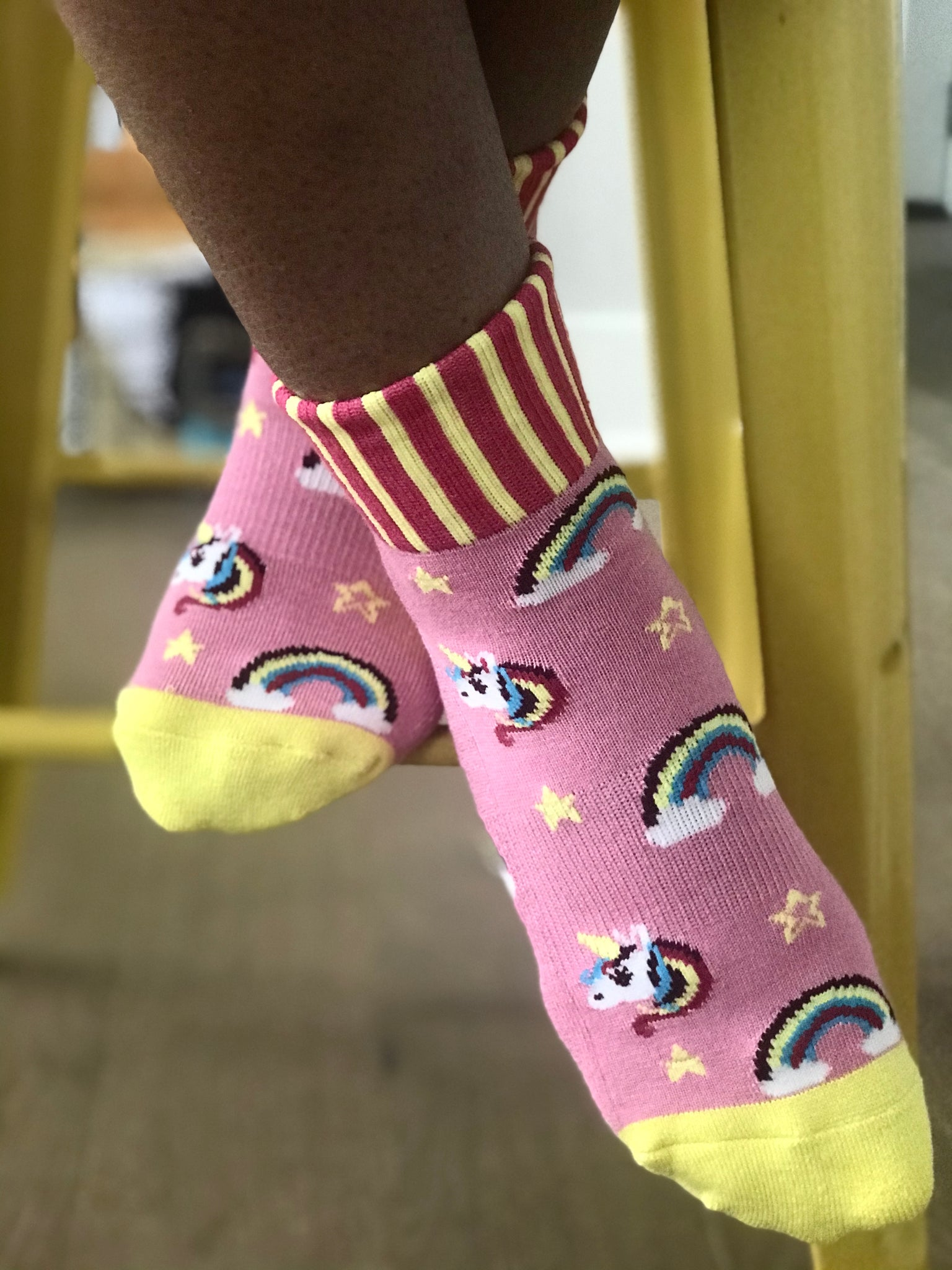 Unicorn Fantasy Ankle Sox