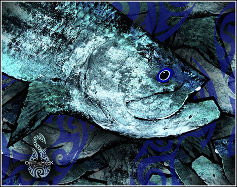 Gyotaku Fine Art Print - TARPON Collection